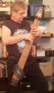 Bernie on the Chapman Stick